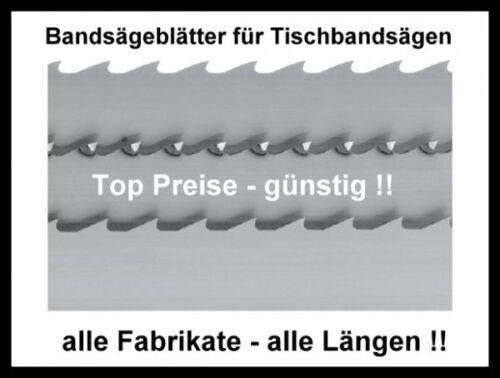 Scheppach Basato 1 Basa Mix 3 xSägeband 1490x6//8//10x0,65mm Bandsägeblatt Holz Ku