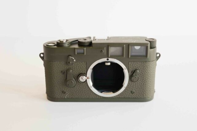 Leica M3 Olive Drab Rangefinder Film (Body Only) Repaint