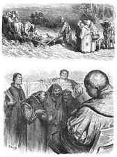 Gustave Dore gigantón Pantagruel 086 A4 Foto impresión