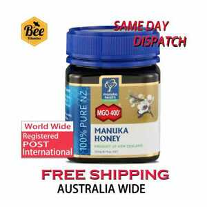NEW-Manuka-Health-MGO-400-250-g-Manuka-Honey-100-Pure-New-Zealand