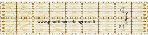 PATCHWORK//SARTA REGOLO UNIVERSALE PER SARTORIA OMNIGRID PRYM 611318 CM 10 X 45