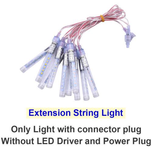 LED Ice Bar String Light Wedding Party Christmas Xmas Decor Pendant Flash Light