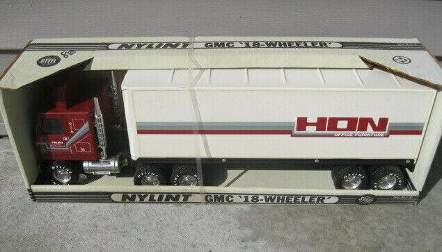 Vintage Nylint GMC Semi Con Remolque Cab sobre Hon Mobiliario De Oficina Nuevo 911-Z 22