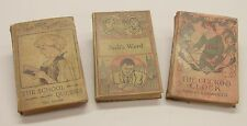 3 Antique Books:  Jack's Ward, The School Queens, The Cuckoo Clock.  H. Alger, J