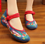 Chinese-Embroidered-Floral-Shoes-Women-Ballerina-Flat-Ballet-Cotton-Loafer-snug thumbnail 49