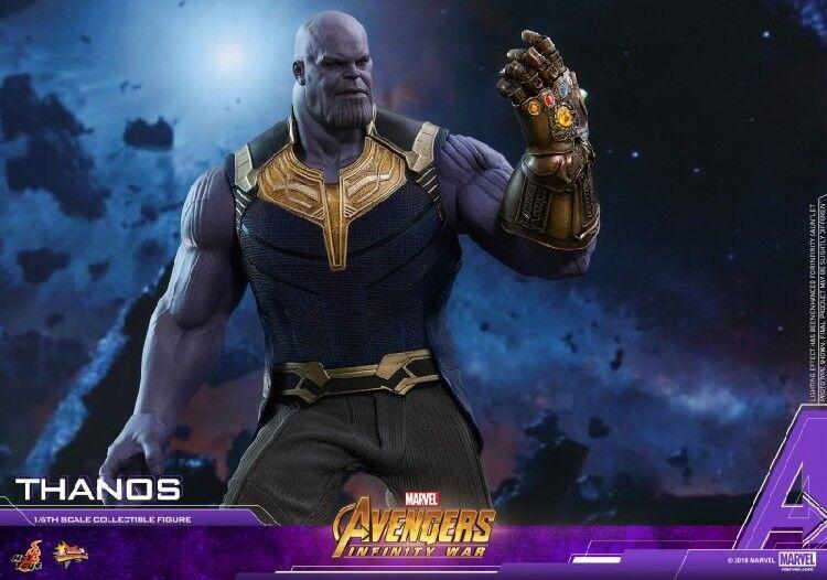 Hot Toys MMS479 infinito Los Vengadores lucha Thanos 1 6 acción figura 41.5cm
