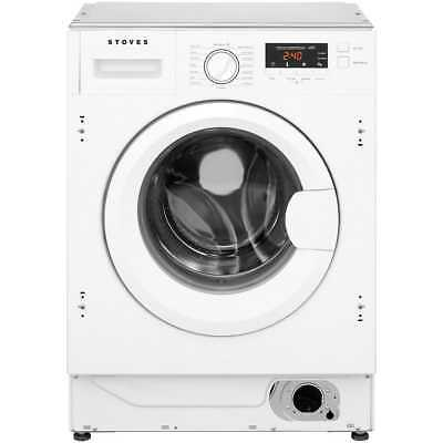 Stoves IWM8KG A+++ 8Kg 1400 Spin Washing Machine White New from AO