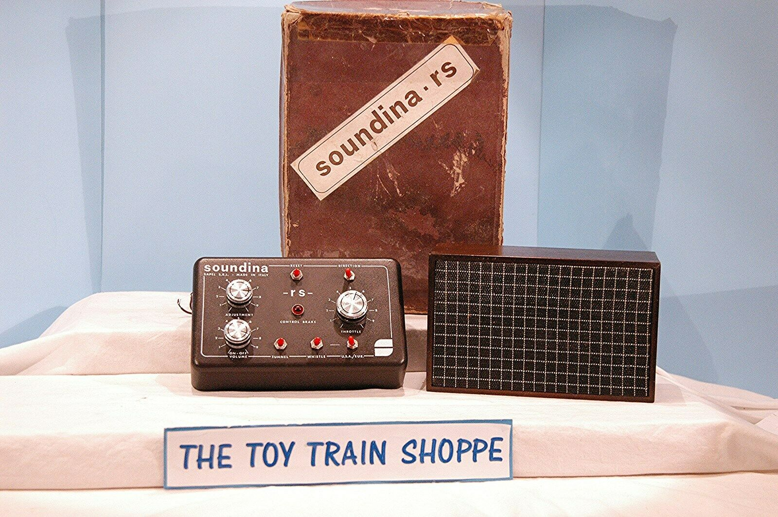 SOUNDINA SAPEL S.R.L. MODEL TRAIN CONTROLLER. MADE IN ITALY.  NICE IN BOX.