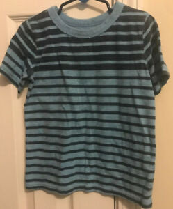 Carters-Boys-5t-Blue-Striped-Tshirt