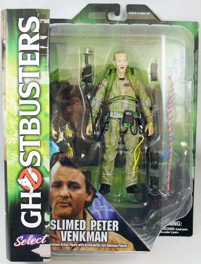 Diamond Select Ghostbusters - Slimed Slimed Slimed Peter Venkman - Deluxe Personaggio - b308ee