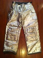 Fire Gear Firestar L82spm Ladies Firefighter Turnout Proximity Pants 36 32 Exc