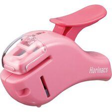 Kokuyo Harinacs Compact Alpha Sln Msh305 Stapleless Stapler Pink