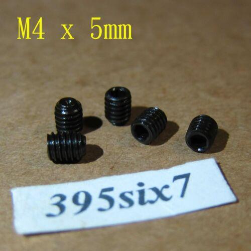Nylon 3mm to 25mm Steel M4 Hex Socket Head Grub Screw Stainless