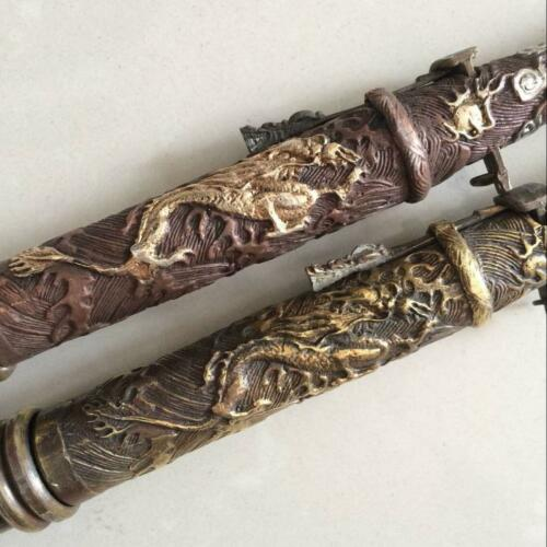 antique 2 The ancient Chinese weapons hidden in the sleeve cuff sword