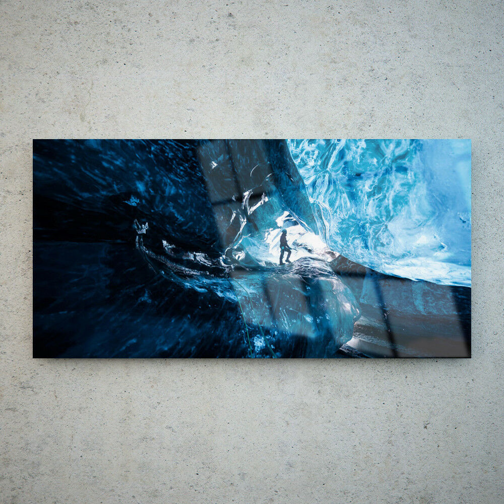 Toute Taille Wall Art Glass incroyable FHD impression photo sur toile Grand incroyable Glass grotte de glace 30462742 7e51d9