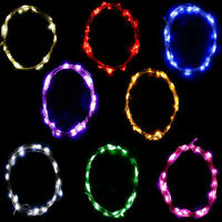 Timing Timer /battery Operated / 3m 30leds Led Long Silver String Wire Light