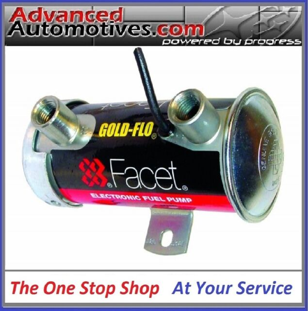 Facet Red Top Fuel Pump Rated 200+ BHP Ideal For Weber DCOE's And Race Cars E85