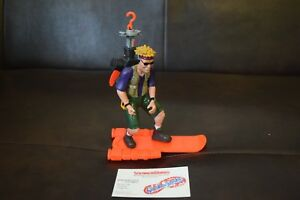 Figurine daction vintage Bold Mattel Street Sharks 1995 série 4 complète
