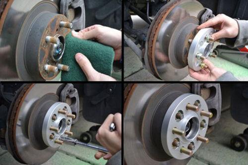 4x 25mm ensanchamiento adaptador 5x114,3 67,1mm m12x1,25 para Mazda Miata nissan