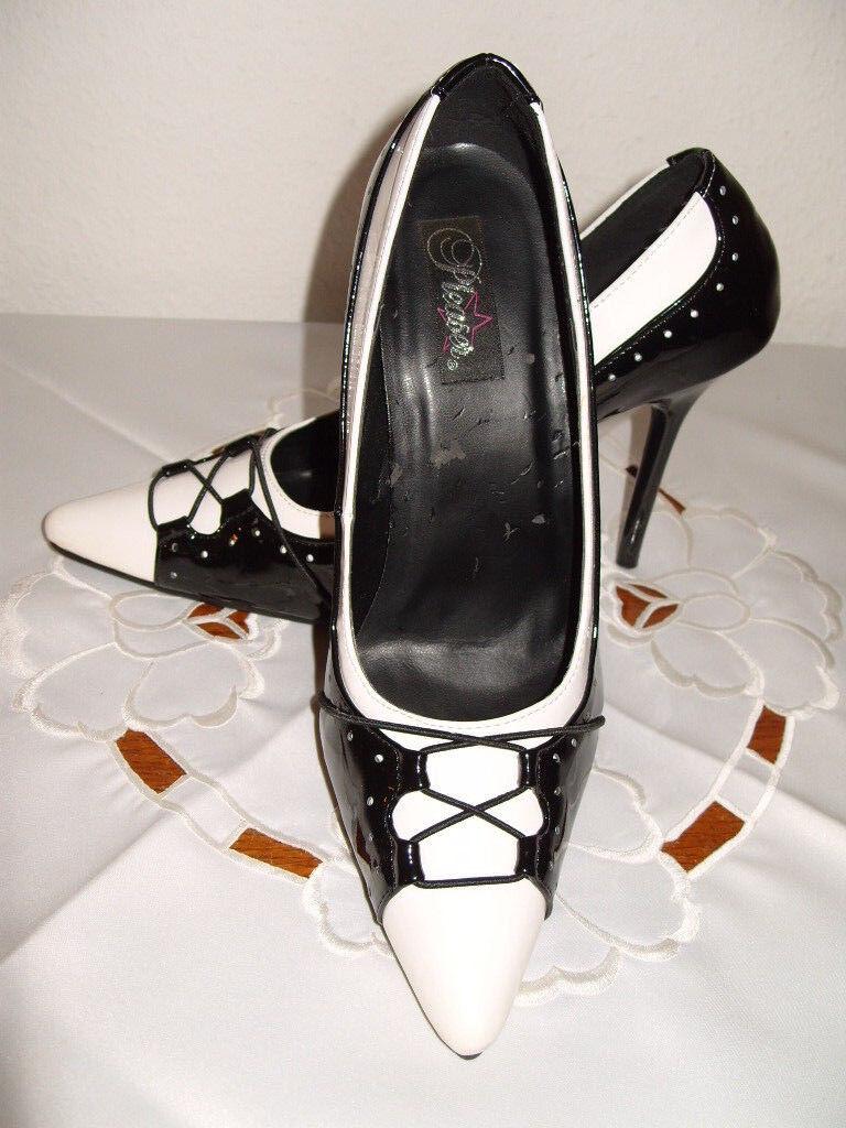 Sexy Pumps, High High High Heels, Schuhe, 12 cm Stiletto Absatz,Clubwear, Gr. 39,5 (40) 0faa27