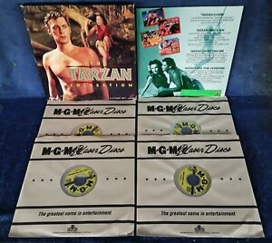 THE-TARZAN-COLLECTION-MGM-4-LASER-DISC-BOX-SET-7-HOURS