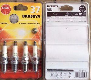 37-NGK-BKR5EYA-Spark-Plugs-x-4-TOYOTA-LAND-CRUISER-YARIS-4-RUNNER
