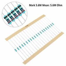 10 Pcs 14w025 Watt 1 Metal Film Resistors Over200 Various Value You Choose