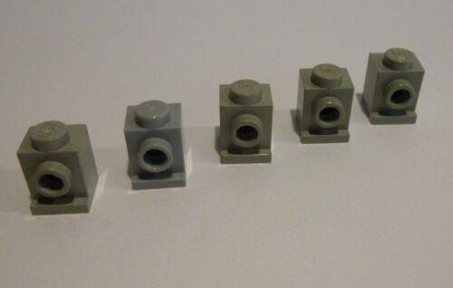 5 x LEGO®  4070 Snoter °Konverter° 1x1 hellgrau gebraucht.