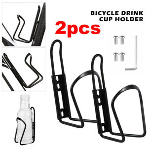 Bicycle Water Bottle Cage Drink Cup Holder Rack Mountain Bike Cycling Part