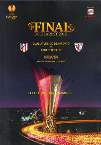 2012 EUROPA LEAGUE FINAL ATHLETIC BILBAO v ATLETICO MADRID