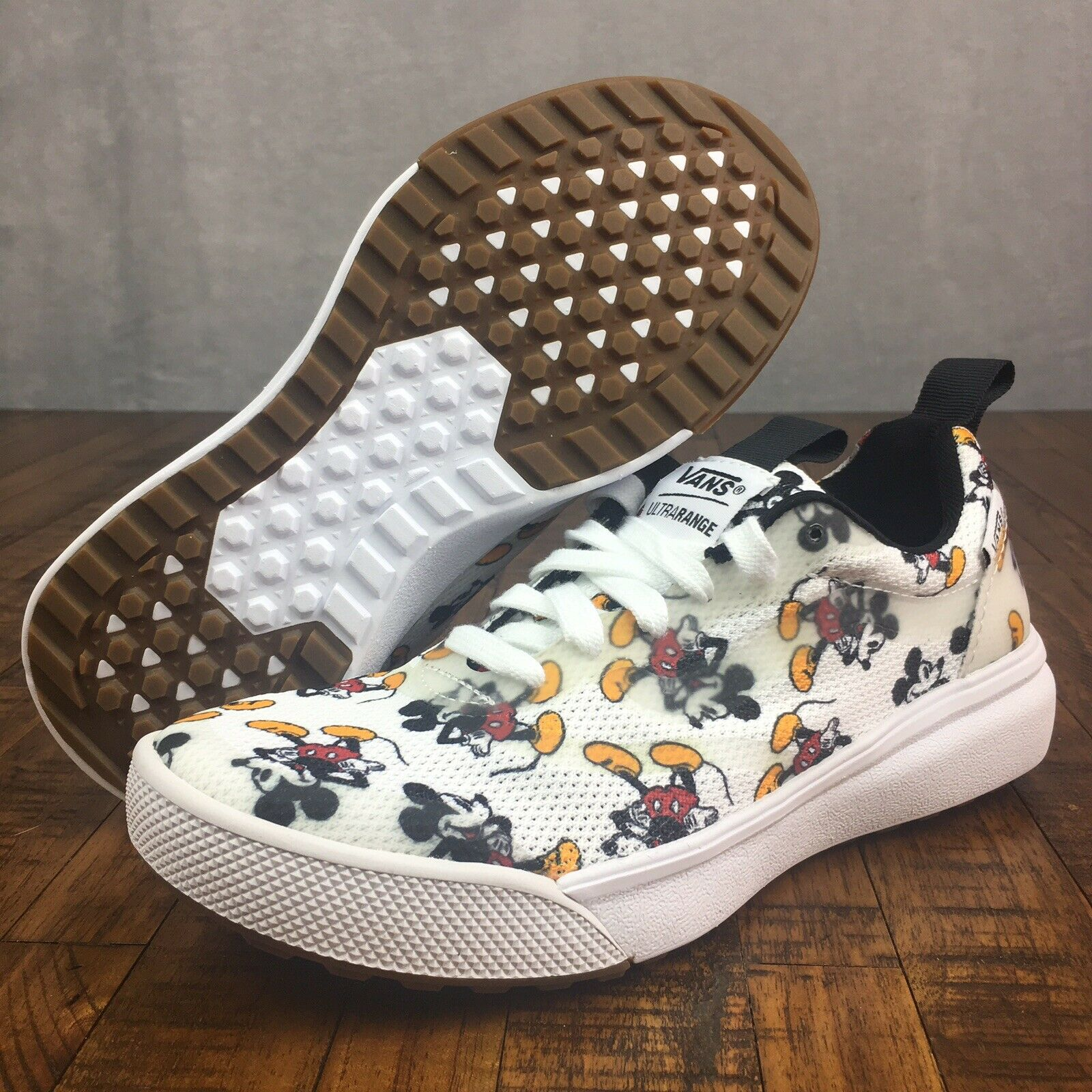 Vans x Disney Ultrarange Rapidweld Sneakers Mickey Mouse Womens Size 6 Youth 4.5