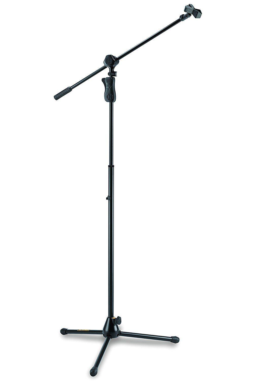 Hercules MS632B 2-in-1 Boom Microphone Stand