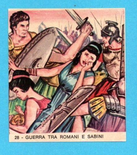 IMPERO ROMANO-IMPERIA 1963-FIGURINA a scelta-STICKER at choice-Recuperata