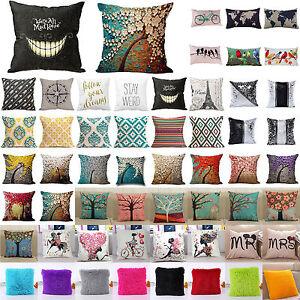 Vintage-Cotton-Linen-Sofa-Pillow-Case-Bed-Waist-Throw-Home-Throw-Cushion-Cover