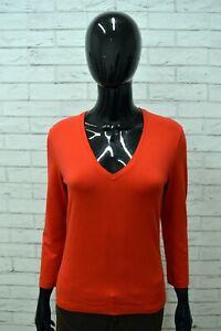 Maglia-Donna-CALVIN-KLEIN-Taglia-Size-L-Maglietta-Blusa-Shirt-Woman-Manica-3-4