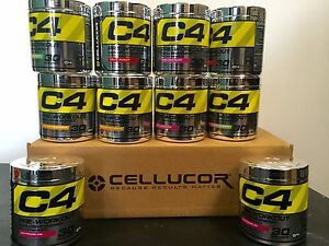 Cellucor C4 G4 Pre-workout 30 Servings Free samples + FREE ...