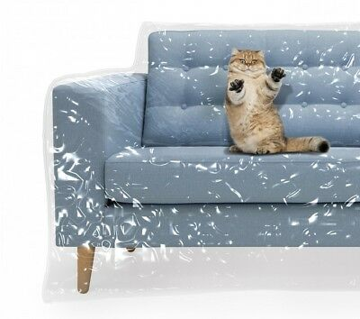 Plastic Sofa Cover Waterproof Couch Pet Furniture Covers