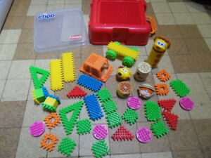 Malette Jouet Lot 1 Constructor Construction Clipo Er Toys Playskool DWH2IE9