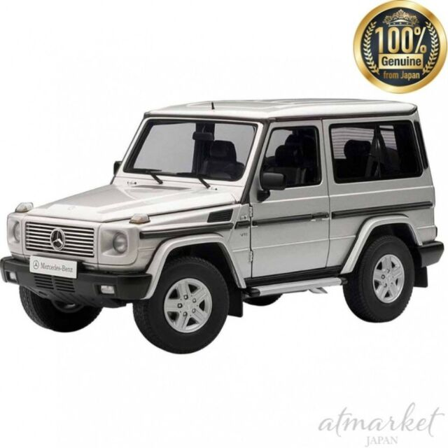 AUTOart 76112 Mini Car 1/18 Mercedes Benz G500 SWB (Silver) Finished Goods JAPAN