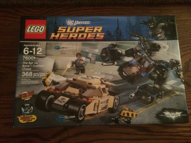NO MINI FIGS // BOX LEGO 76001 Tumbler ONLY Bane/'s Tumbler Vehicle