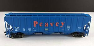 Proto-2000-Peavey-4427-PS2-CD-High-Side-Covered-Hopper-TLDX-6247-HO-Scale