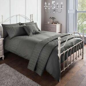 Duvet-Cover-Set-Double-Polyester-Luxury-Bedset-Super-Soft-Charcoal-Bedding-Set