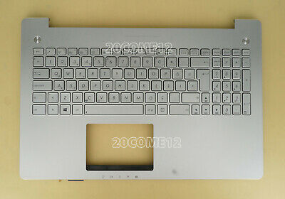 New Russian backlit keyboard for Asus N56J N56JN N56JR N56JK silver Palmrest