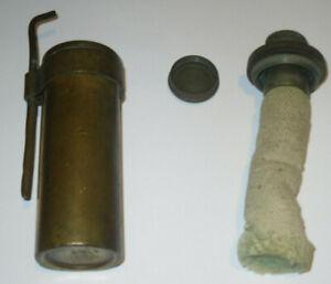 Abbott-amp-Birks-Vintage-brass-blow-lamp-alcohol-torch-portable-jewellers-LAMP