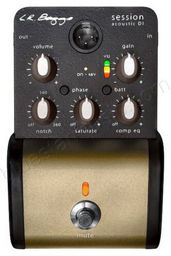 "Saturation /& Compression EQ XLR /& 1//4/"" Out LR Baggs Session Acoustic Preamp//DI"
