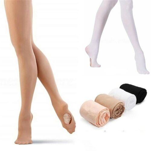 Wear Soft Microfiber Footed Socks Dance Stocking Tights Pant Ballet Pantyhose