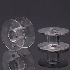 20 Nähmaschinenspulen - Spule Singer Nähmaschine - 20 x 11 mm Spulen Acryl NEU