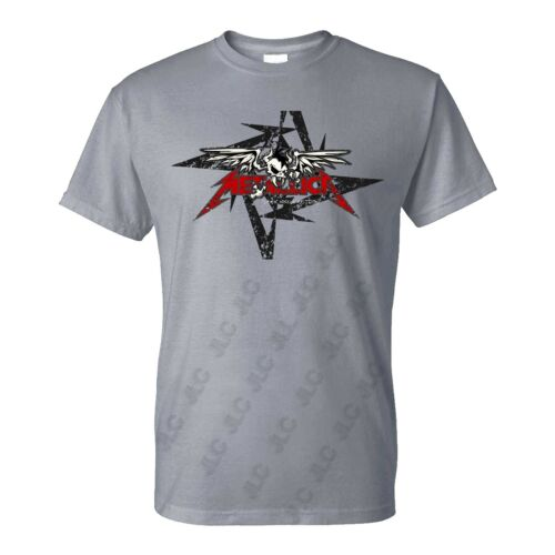 Tailles S-4XL Prêt à expédier! Metallica Heavy Metal T-Shirt