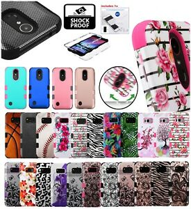 Samsung-Galaxy-Note-5-TUFF-Hybrid-Defender-Rubber-Hard-Protective-Case-Cover-Kit