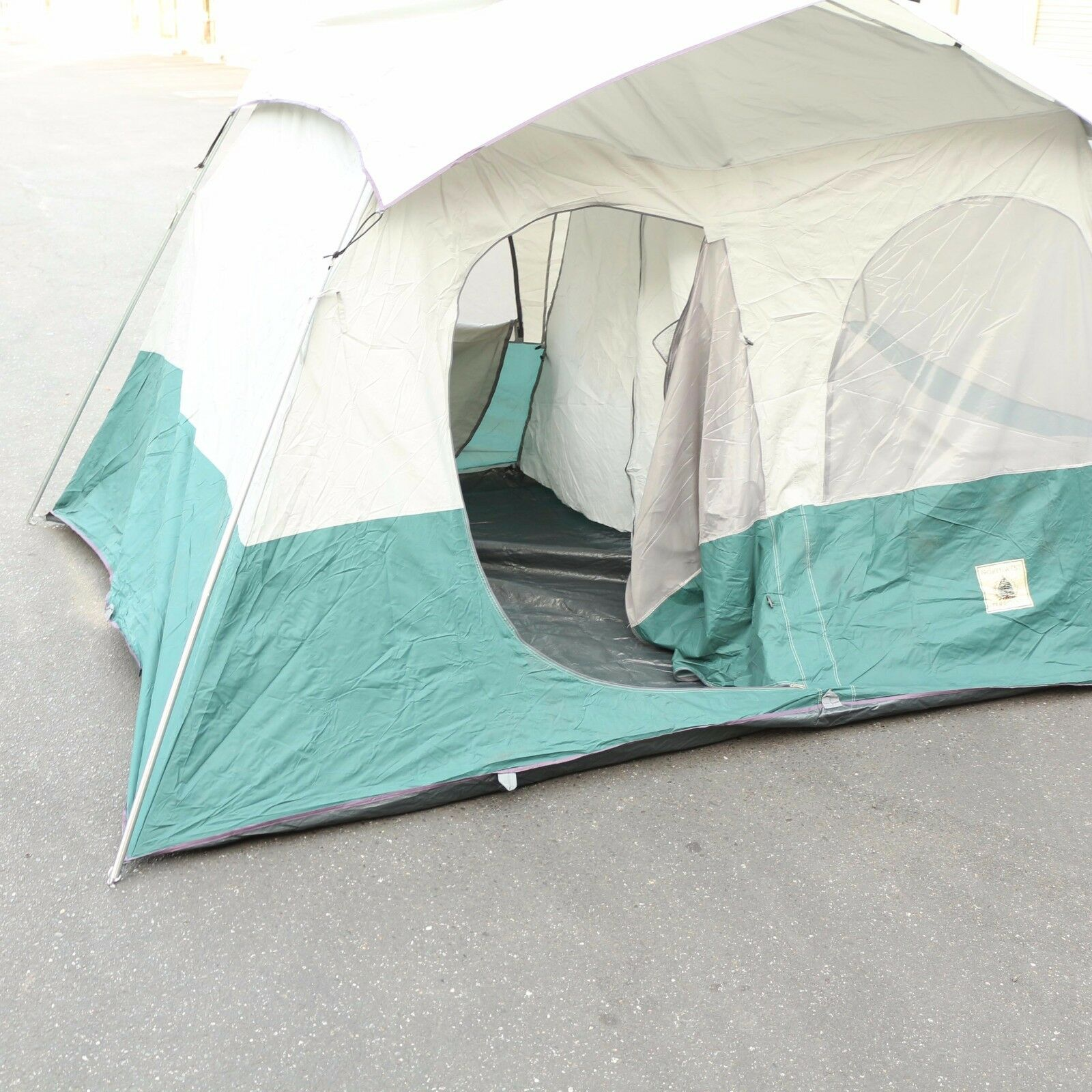 Montana 6 Person Family Camping Hiking CABIN Dome Tent w/Rainfly  | 12' x 8'